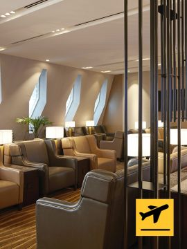 Al Dhabi Lounge - Departure from Abu Dhabi International Airport Terminal 1 - Extended Stay (6hrs)