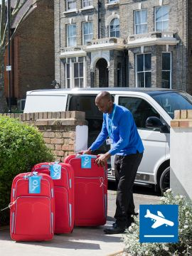 London Heathrow airport baggage delivery