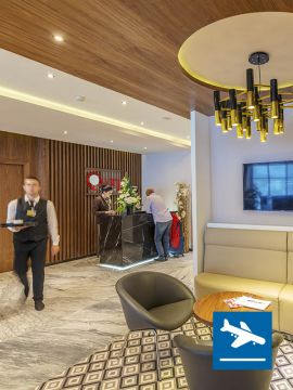 casablanca airport lounge
