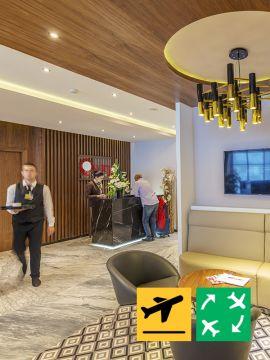 rabat airport lounge