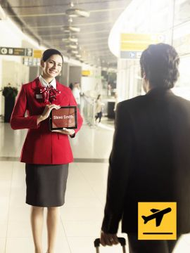 Golden Class Meet and Assist - Departure from Abu Dhabi International Airport